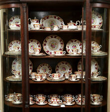 "Royal Albert ""Lady Hamilton"" Tè Set & Stoviglie-inglese BONE CHINA"
