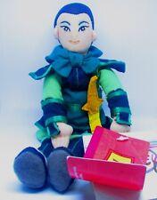 "Disney Store Mulan Warrior Plush Toy Doll Bean Bag Vintage 9"" NWT"