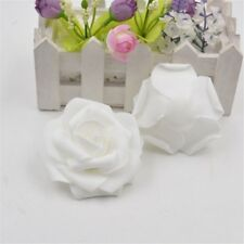 50pcs Roses Artificial Silk Flower Heads Wholesale Lots Wedding Party Decor New.