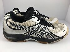 Asics Gel-1130V Men's White + Black Athletic Shoes Size 8.5 (B953N)