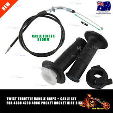 Twist Throttle Accelerator Grip cable 47cc 49cc Pocket Rocket Dirt Mini ATV Bike