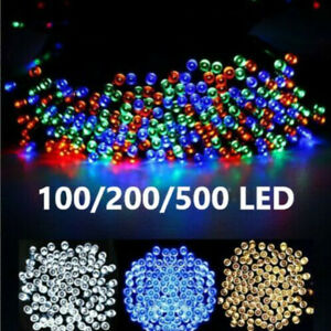 Christmas Fairy String Lights 100-1000 LED Xmas Tree Outdoor Indoor Decorations