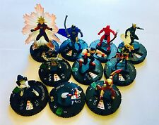 MARVEL HEROCLIX CHAOS WAR set of 10 figurines uncommon