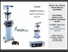 Vaser Amp Power X Liposuction System Medical Equipment Evaluation Amp Repair Service