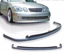 1998-2005 Lexus GS300 GS400 AERO VIP Front Bumper Lip Spoiler Splitter | Plastic