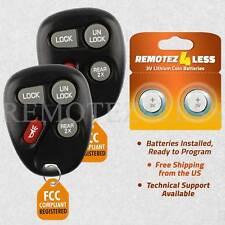2 For 2000 2001 2002 Chevrolet Camaro Keyless Entry Remote Car Key Fob