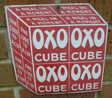DODO GARNIER OXO CUBE ADVERTISING ENAMEL SIGN