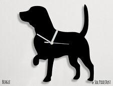 Beagle Dog Silhouette 1 - Wall Clock