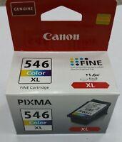 ORIGINAL CANON PIXIMA COLOR 546 XL CL-546XL INK PRINTER GENUINE
