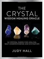 Crystal Wisdom Healing Oracle Kit by Judy A. Hall, NEW Book, FREE & Fast Deliver