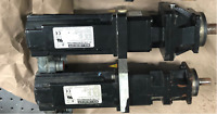 A set of 2 Kollmorgen 3 Phase PM Servo Motors (AKM43K-ANCNR-00) with Gear Head
