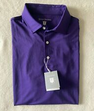 Hickey Freeman Golf Polo Purple Men's Size Small & Large New!