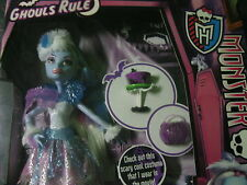 Monster High - Ghouls Rule - Abbey Bominable Doll - NIB