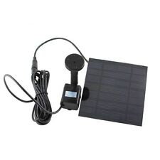1.5W Solar Power Fountain Garden Pond Pool Water Feature Pump Panel Submersible