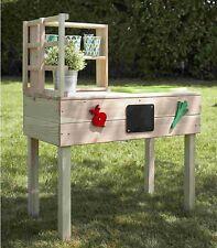 Kinder Outdoor Gartentisch Spielküche Pflanztisch mit Schüssel Tisch Küche 2663
