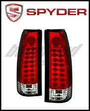 Spyder Chevy C/K Series 1500 88-98/Blazer 92-94 LED Tail Lights Red Clear