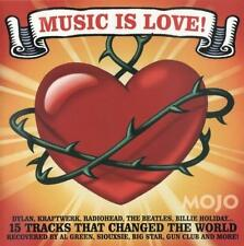 MOJO Music Is Love! CD Covers by Willie Nelson*Robyn Hitchcock*Siouxsie*Al Green