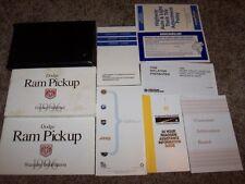 1996 Dodge Ram Pickup Owner Operator Manual LT Work Special 3.9L 5.2L 5.9L V6 V8