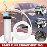 Car Truck Brake System Fluid Bleeder Kit Hydraulic Clutch Oil One Man Tool 190cm