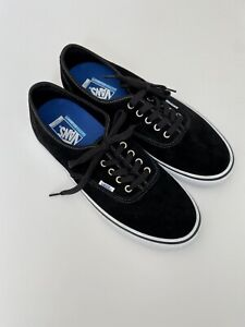 Vans Ultracush PRO Black Suede Lace Up Mens Size US/12 Skateboard Shoes
