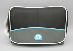 Igloo Collapse & Cool 6 Cooler Lunch 6 Can Capacity Black Blue Adjustable Strap