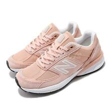 New Balance 990 v5 B Pink White Made In USA Women Running Casual Shoes W990PK5 B