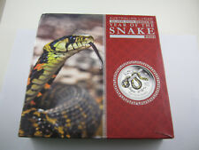 2013 Silver LUNAR YEAR OF THE SNAKE KILO PROOF COLOUR. Exceptional Perth Mint