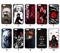 Naruto Itachi Madara Kakashi Case Cover For Samsung Galaxy / Apple iPhone iPod