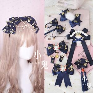 Japan Lolita Hair Accessories Sweet Hair Pin Kawaii Handmade DIY Hair Band #G4