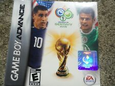 2006 FIFA World Cup (Nintendo Game Boy Advance, 2006) NEW SEALED