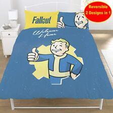 Officiel Fallout Vault Garçon Double Ensemble Housse de Couette Garçons