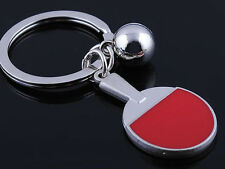 HJ058 Table Tennis Keyring Sports Classic  Pendant Key Bag Chain Creative Gift