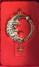 Lenox 2013 Annual Silver Metal Baby's First Christmas Rattle Ornament New In Box