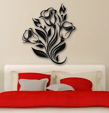 Wall Stickers Vinyl Decal Flowers Home Decor for Living Room (ig667)