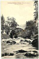 CPA 74 Haute-Savoie Tramway d'Annecy à Thones  Aravis Pont de la  Vacherie