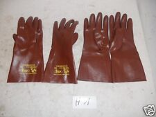 1Paar Gr9 Schutzhandschuhe säurefest Handschuhe Sicherheits handschuhe ex BW(H1)