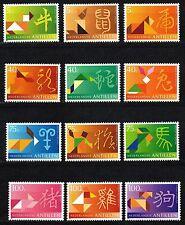 Dutch Antilles - 1997 Chinese horoscope signs Mi. 918-29 MNH