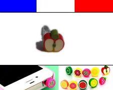 Cache anti-poussière jack universel iphone protection capuchon bouchon POMME 1