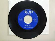 "KENNY & THE KASUALS:Blind Date 2:30-Please Don't Leave Me 2:29-U.S. 7"" BIG ADD"