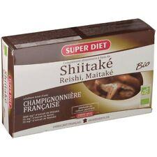 extrait de Shiitaké reishi maitaké bio 20 ampoules superdiet