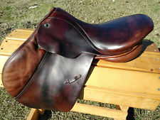 "17"" Stubben Edelweiss Jumping Saddle 32"