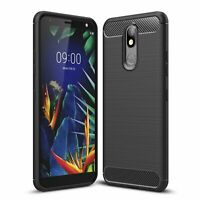Lg K40 Case Phone Cover Protective Case Bumper Shell Black
