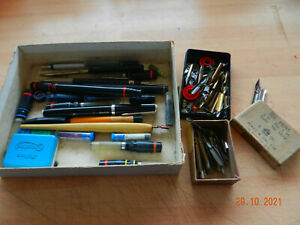 job lot , pens and nibs