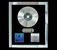 NIRVANA NEVERMIND MULTI (GOLD) CD PLATINUM DISC LP VINYL