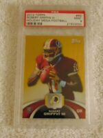 2012 Topps Robert Griffin III Rookie Refractor Chrome Holiday Mega PSA MINT 9