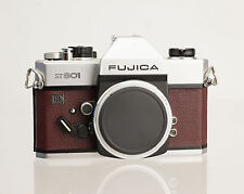 Fujica ST 801 Replacement Cover - Laser Cut Recycled Leather