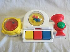 1991 Playskool Baby Toy Activity Center Band Instruments Drum Piano Horn