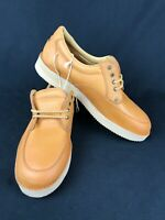 KODIAK Men's Tan Brown GENUINE LEATHER Casual Shoes Size 13