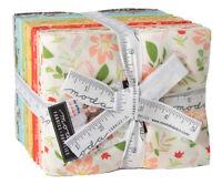 Moda, Summer Sweet, Fat Quarter Bundle, 38pc Precut Quilting Fabric, 37580AB