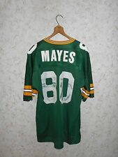 Vintage 90s Derrick Mayes Green Bay Packers Football Jersey Champion Size 48